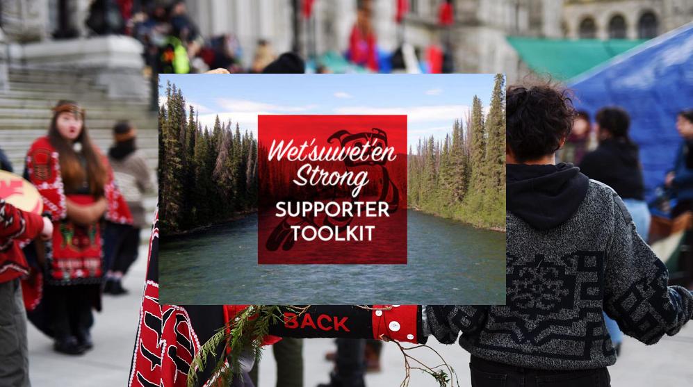 Statement of Solidarity for the Wet'suwet'en People