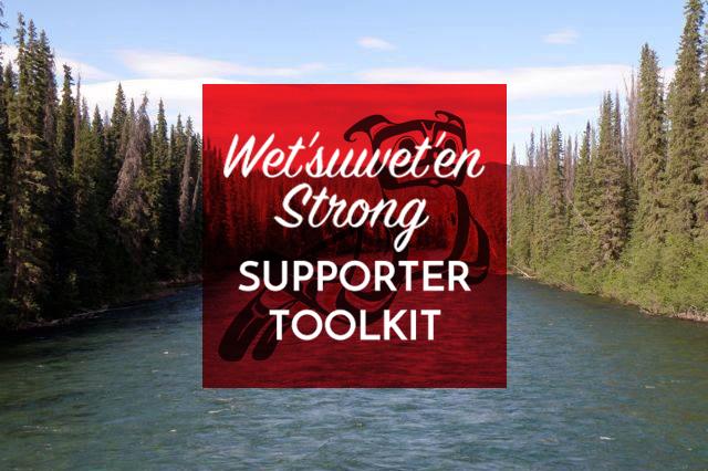 Statement of Solidarity with Unis'tot'en, Gidimt'en, Wet'suwet'en people and allies