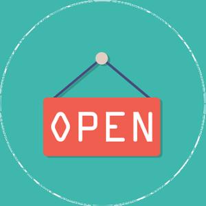 Open position