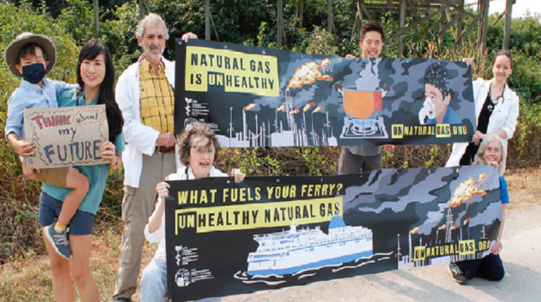 BC Doctors and Nurses Raise the Alarm—and Billboards—About Natural Gas